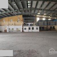 Cho thuê 2300m2 kho, xưởng khu vực ngã ba đình vũ, giấy tờ pháp lý đầy đủ LH: 0901568123