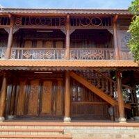 Biệt thự gỗ sân vườn 5pn , Bình Giã Bầu Trũng, hẻm 8m LH: 0812206745