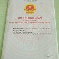 Cần bán căn nhà khu dân cư đông đúc Tân Đô LH: 0901476881