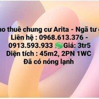 Cho thuê chung cư Arita - Ngã tư ga LH: 0396771006