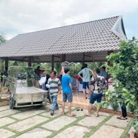 Tuyệt phẩm nghỉ dưỡng, nhà vườn khuôn viên hoàn thiện tại huyện Châu Thành, Tiền Giang LH: 0909071132