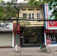 Cho thuê nhà mặt phố Lê Lợi, MT: 42m DT: 73m2 x 2 tầng LH: 0983889740