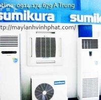Đơn vị nhà thầu uy tín có kinh nghiệm thi công + lắp đặt Máy lạnh tủ đứng Sumikura trong nhiều năm liền LH: 0914174679