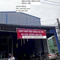 Cho Thuê Xưởng 300m2, 420m2, 500m2, 700m2, Mặt Tiền Xa Lộ Hà Nội, Gần kcn AMATA, Biên Hòa, Đồng Nai, VietNam LH: 0909100378