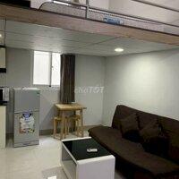 Căn hộ có gác Tân Phú 35m² tone xám tối full NT LH: 0937564312