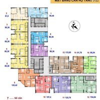 Cần bán căn 2PN tầng trung căn 2114 DA C22 BCA đường Trần Thái Tông vào tên HĐMB, LH: 0865799268