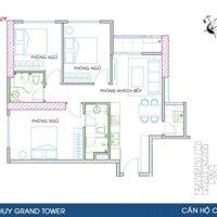 Bán căn Đông Nam CH8-CH12 giá CĐT dự án Hoàng Huy Grand Tower 0947799586