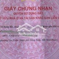 vợ chồng cần bán gấp 3 lô liền nhau tại đồng xoài LH: 0966109695