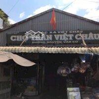 Nhà trong chợ Trần Việt Châu, 1 trệt + 2 lầu LH: 0915242833