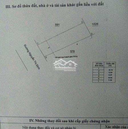 Đấtmặt Tiềnngtđịnh 557M2, 70M2 Thổ Tặng Xưởng Trên Đât- Ảnh 1