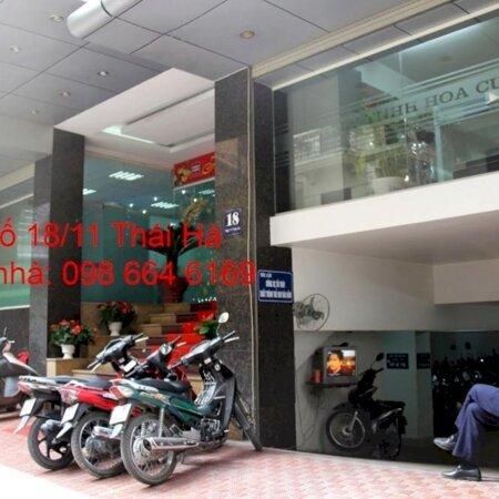 75m2 VP cho thuê tại nhà VP 9 tầng số 18/11 phố Thái Hà. Giá 16.5 triệu/tháng. LH chủ nhà 0986646169- Ảnh 1