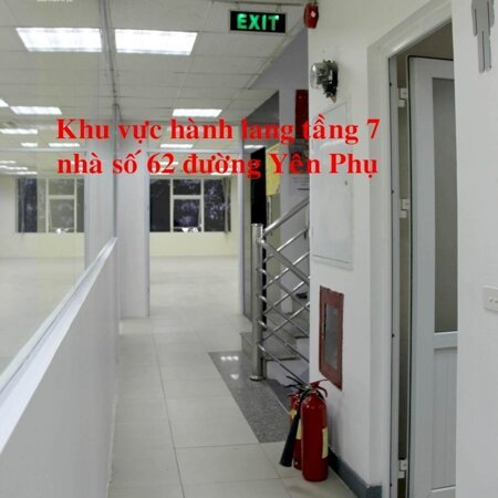 40, 57 và 160m2 VP cần cho thuê tại nhà VP 8 tầng số 62 đường đôi Yên Phụ. LH trực tiếp chủ nhà 098 664 6169- Ảnh 3