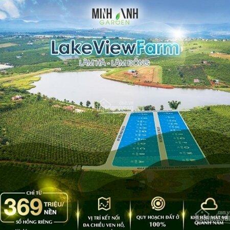 Cần Bán Lô Đất 500M Thổ Cư Thị Trấn Đinh Văn View Hồ Và View Đồi Cực Đẹp- Ảnh 1