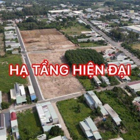Bán lô đất VỊ TRÍ 4 MẶT TIỀN ĐƯỜNG ngay TX Phú Mỹ giá chỉ 1.5 tỷ Bank cho vay 80%, Khu phố đông đúc sầm uất, LH 0935531351- Ảnh 1