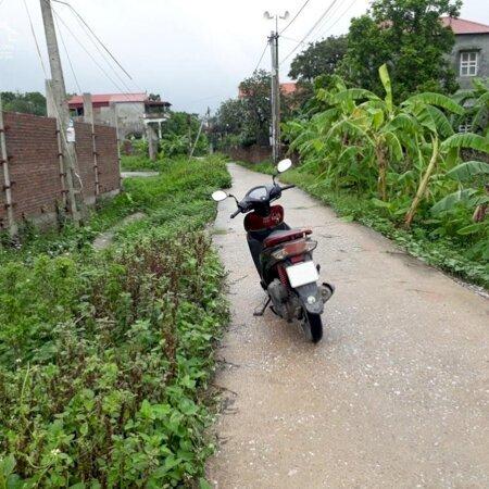 Bán đất đấu giá tại xã Đọi Sơn, Duy Tiên, Hà Nam; DT: 114m2; MT: 5,7m; đường 5,5m;- Ảnh 1