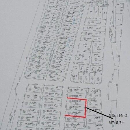 Bán đất đấu giá tại xã Đọi Sơn, Duy Tiên, Hà Nam; DT: 114m2; MT: 5,7m; đường 5,5m;- Ảnh 3