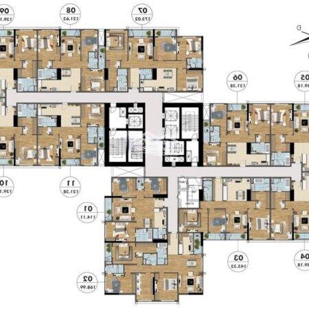 Căn Hộ 114M2 Vuông Vắn Hướng Mát Dự Án Goldmark City Thanh Toán 1 Tỷ (30%) Nhận Nhà- Ảnh 2