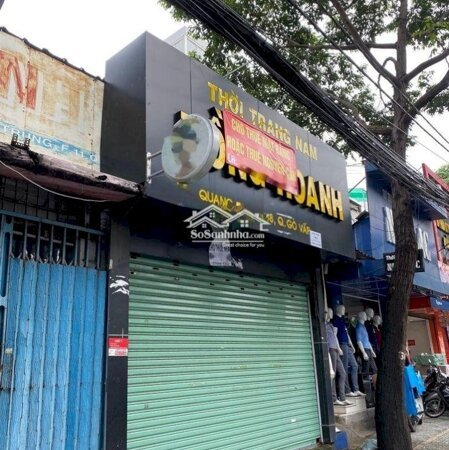 Nhà Mặt Tiền Quang Trung Gần Chợ Htt Vỉa Hè Thoáng- Ảnh 1