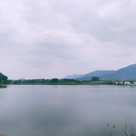 Yên Bình – Lô góc 2 mặt tiền bám (view) hồ điều hòa xã Yên Bình (độc quyền)- Ảnh 1
