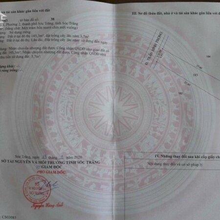 Bán nhà mặt tiền Trần Bình Trọng- Ảnh 1