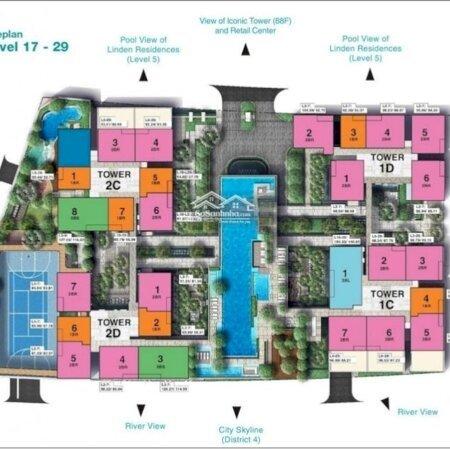 Bán 1 Cặp 2 Pn Tòa Tilia View Sông ,Diện Tích196M2 , Giá Bán 21,835 Tỷ , Huỳnh Thư 0905724972- Ảnh 2