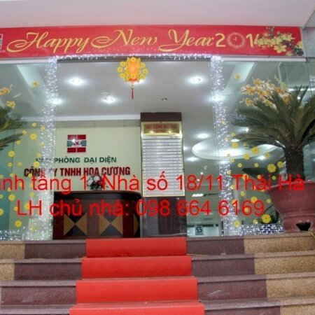 82 và 170m2 cho thuê tại nhà VP 9 tầng số 11 Thái Hà. Giá 17 triệu/tháng. LH trực tiếp chủ nhà 0986646169- Ảnh 7