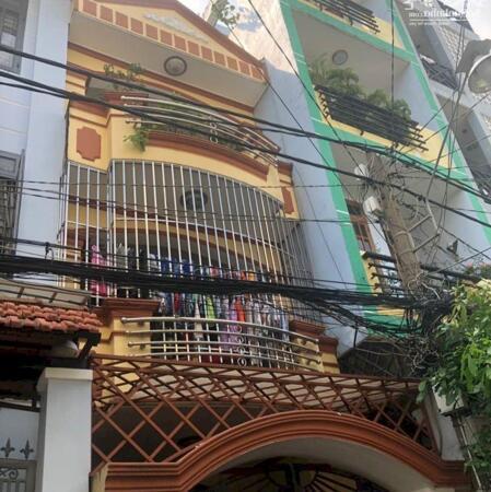 Nhà mới HXH 4 lầu giá 4 tỷ 85 Nguyễn Văn Công p.3 Gò Vấp- Ảnh 1