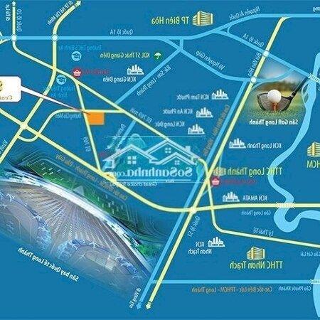Đất Nền Nhà Phố Gần Cổng Sân Bay Long Thành 100M²- Ảnh 2