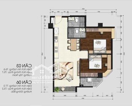 Chung Cư Monarchy Quận Sơn Trà 76M² 2Pn- Ảnh 3