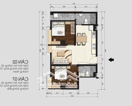 Chung Cư Monarchy Quận Sơn Trà 76M² 2Pn- Ảnh 2