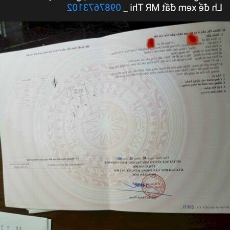 Bán lô 8m mặt tiền, Minh Quyết, Khai Quang, Vĩnh Yên_ lh 0987673102- Ảnh 1