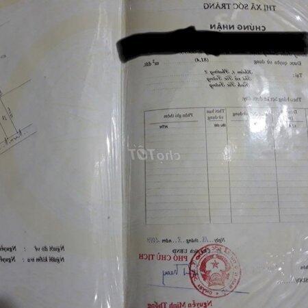 Bán Nhà Trệt Lửng Mặt Tiền Trần Quang Diệu- Ảnh 1