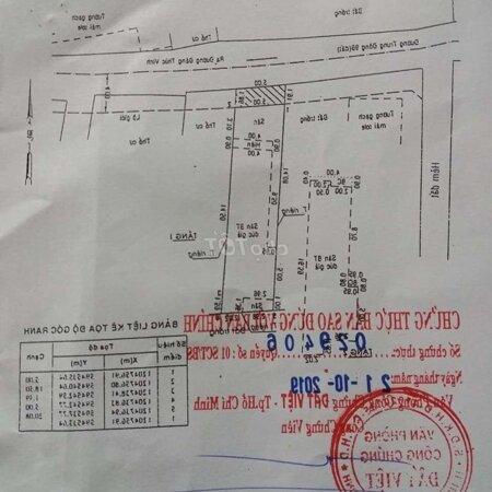 Nhà Đ Đặng Thúc Vịnh 5 X 24 Đút 2 Tấm Giá Bán Gấp- Ảnh 4