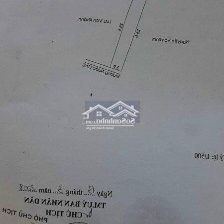 100M2 Đất Chánh Nghĩa, Sổ Hồng Riêng, Đường Xe Máy- Ảnh 3