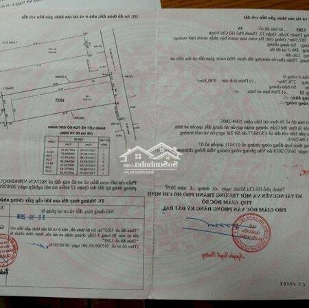 Nhà Ngã Tư Ga Hà Huy Giáp Vào 200M 99% 1Ty420- Ảnh 6