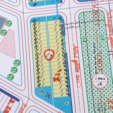 Bán 3 lô liền kề đường Cao Hồng Lãnh, trục chính khu Bá Tùng.- Ảnh 1