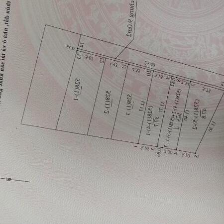 BÁN ĐẤT THỔ CƯ TẠI PHÚC LỢI ĐẦU TƯ TÔT 75M GIÁ 45TR/M.- Ảnh 1