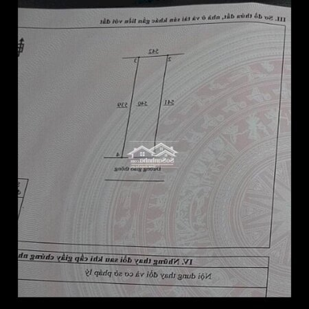 Đất Sổ Đỏ 100,2M2 Full Thổ Cư Gần Sân Bay Lt- Ảnh 2