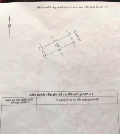 Cần bán lô đất 40m2 tại Phú Diễn (Bắc Từ Liêm) sổ đẹp giao dịch giá 115tr/m2 Liên hệ e Dũng 0365,226,348- Ảnh 1