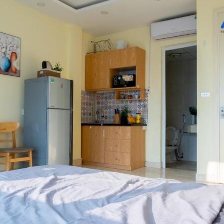Phòng Thuê Studio 02 VnaHomes 620 Lạc Long Quân Cửa Sổ Toàn Cảnh- Ảnh 3