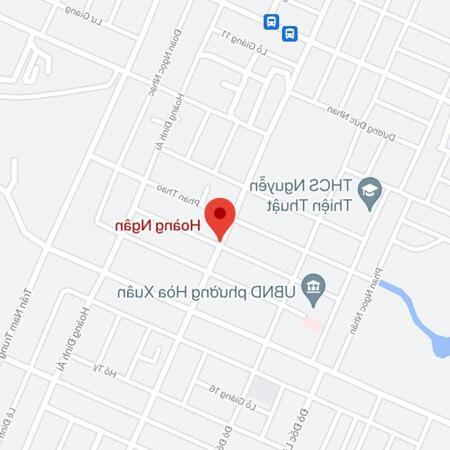 Bán đất đường Hoàng Ngân, Phường Hòa Xuân, Quận Cẩm Lệ. DT: 100 m2. Giá: 3.2 tỷ- Ảnh 1