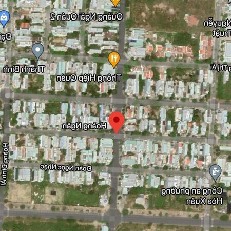 Bán đất đường Hoàng Ngân, Phường Hòa Xuân, Quận Cẩm Lệ. DT: 100 m2. Giá: 3.2 tỷ- Ảnh 2