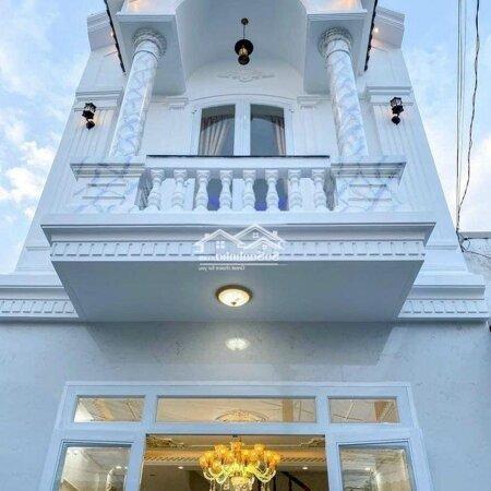 Nhà Lầu Mới Xây Tuyệt Đẹp - Hẻm 9 Trần Chiên- Ảnh 1