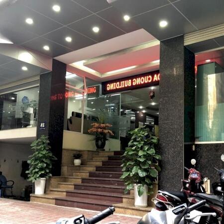 Chủ nhà cho thuê 45m2 tầng 5 tại nhà VP 9 tầng số 11 Thái Hà. Giá 10 triệu/tháng. LH 0986646169- Ảnh 11