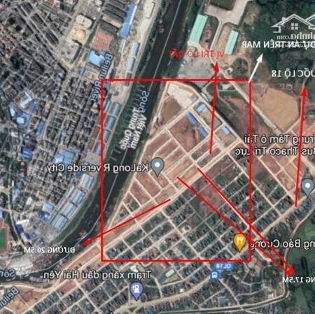 Đất nền Sổ đỏ lâu dài, 119m2 mặt tiền trung tâm TP Móng Cái- Ảnh 2