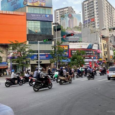 Bán nhà mặt phố Minh Khai ngay gần ngã tư, Cầu Mai Động, 120m2, MT 5m, 250 tr/m2- Ảnh 1
