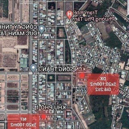 Đất Thành Phố Thủ Dầu Một 5X20:100M²- Ảnh 6