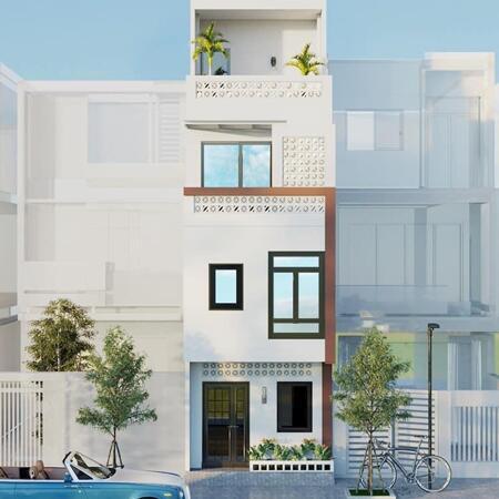 Nhà mới thiết kế cực đẹp độc nhất, bán nhà Lê Quang Đạo Phú Đô 45m x 4 tầng giá 3.9 tỷ có thoả thuận- Ảnh 1