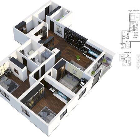 Tôi cần bán căn hộ sân vườn, căn góc, diện tích 143m2- Ảnh 2