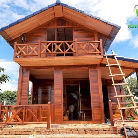 Combo nhà gỗ vườn rau đất ven Đà Lạt chỉ 1tỷ200tr rẻ nhất khu vực- Ảnh 2